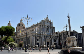 Catania city center