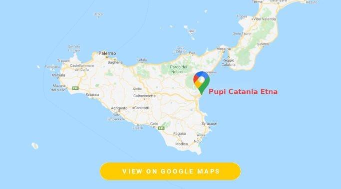 Pupi Catania Etna map